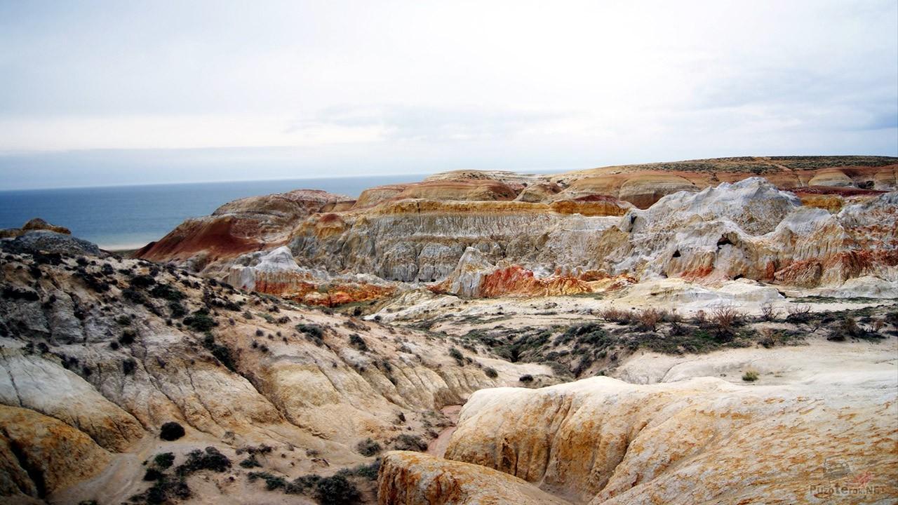 Панорама Пылающих утёсов