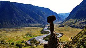Панорама долины реки Чулышман