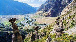 Панорама летнего Алтая