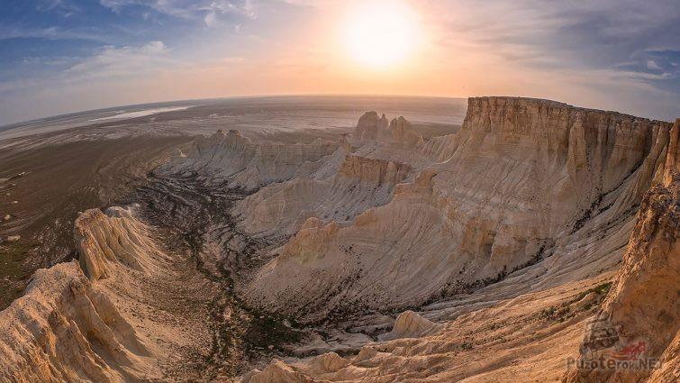 Панорама мелового плато
