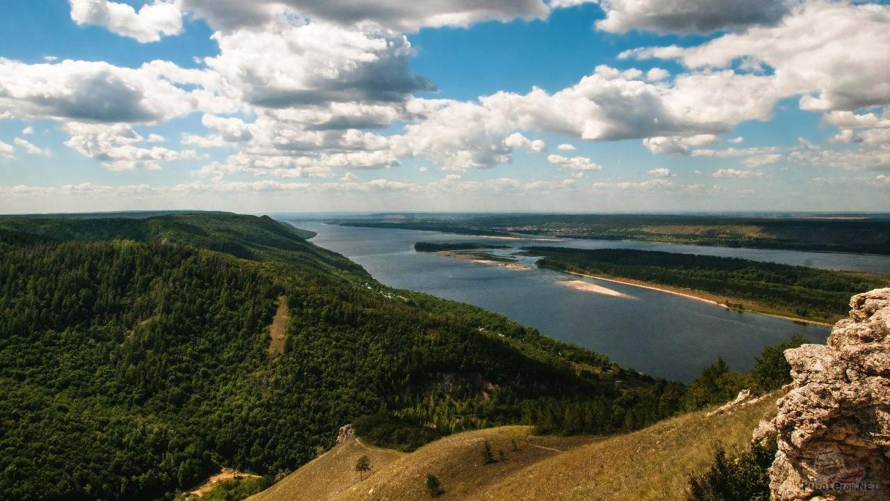 Панорама национального парка Самарская лука