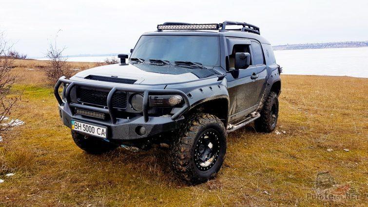 Подготовленный FJ Cruiser на Украине