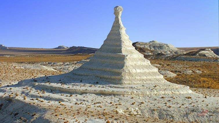 Природное чудо в казахской степи