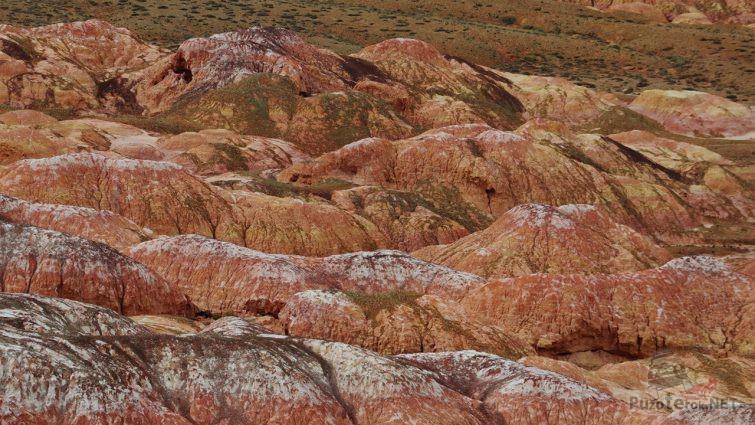 Пылающие скалы Казахстана
