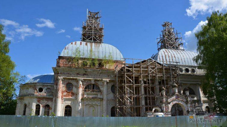 Реставрация уникального храма в Яропольце
