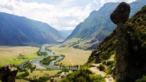 Тропинка в Алтайских горах