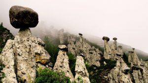 Туман в урочище Аккурум