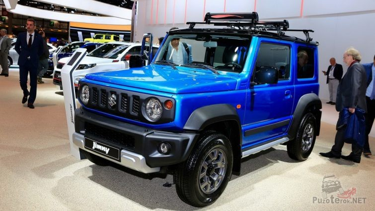 Тюнингованный Suzuki Jimny на выставке