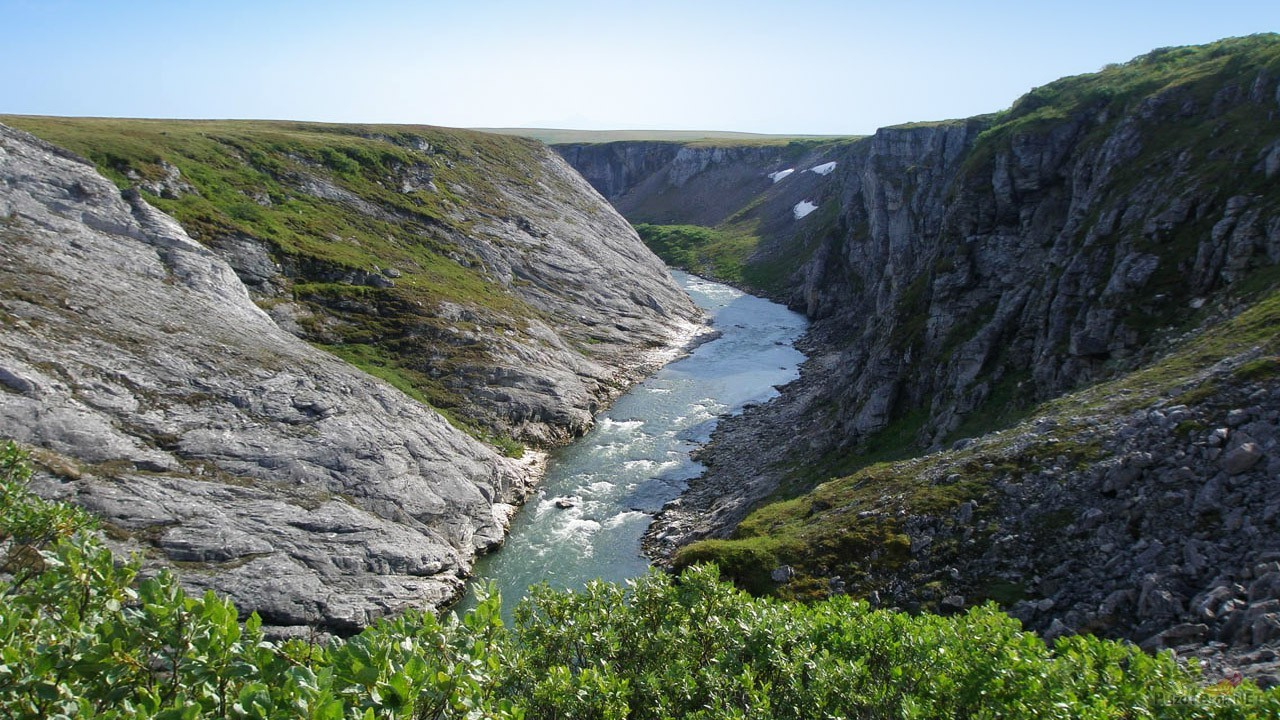 Усинский каньон летом