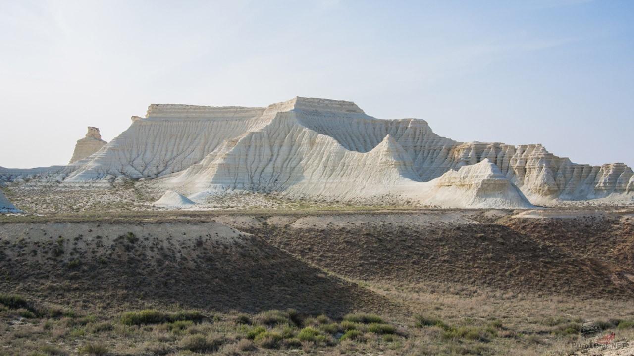 Вид западного склона из степи
