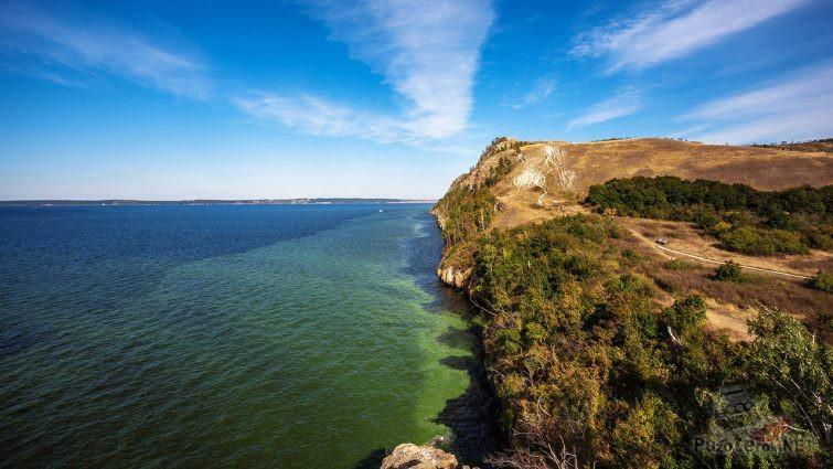 Волга в заповеднике Самарская лука