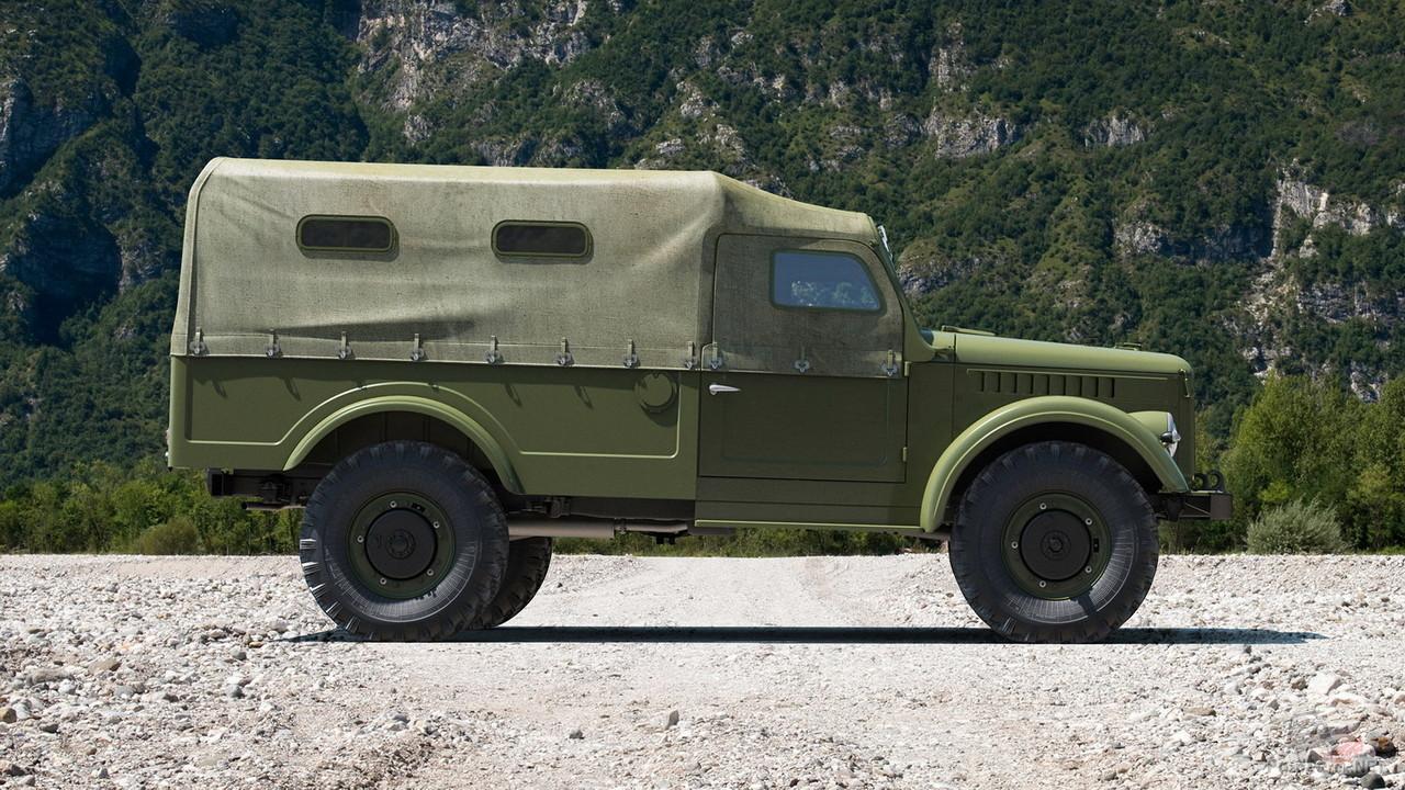 ГАЗ-62, вид сбоку