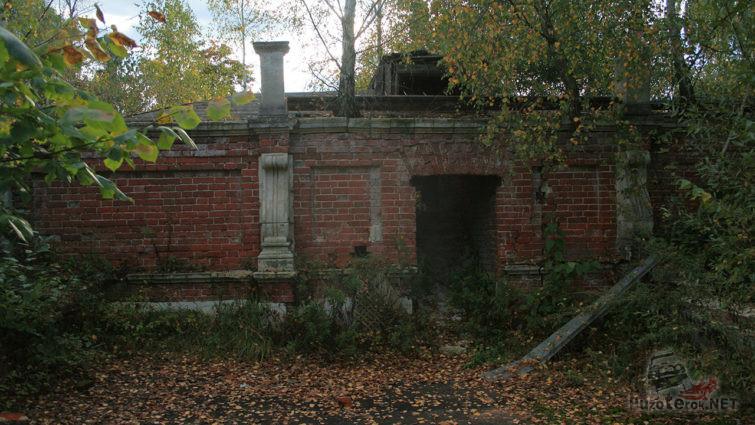 Листопад в парке усадьбы графа Орлова
