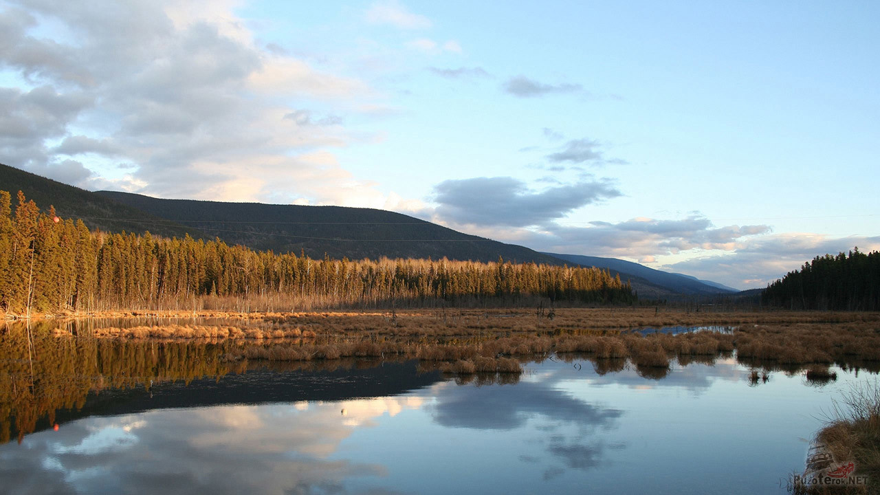 Осень в горах Красноярского края