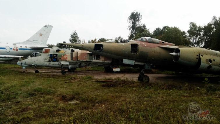 Свалка-запасник музея ВВС в подмосковном Монино