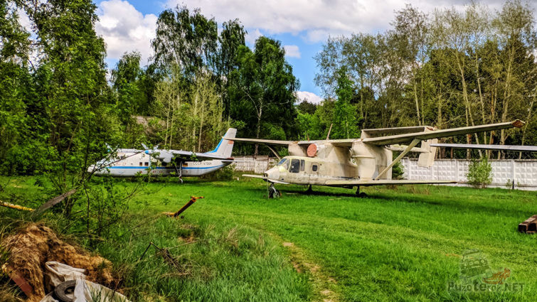 Задворки Музея авиации в Монино