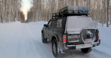 Зимник Игол - Орловка