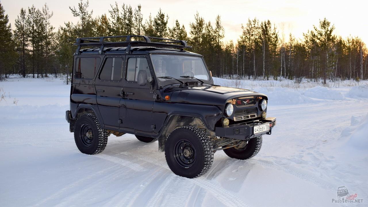 Экспедиционный багажник на УАЗ Хантер