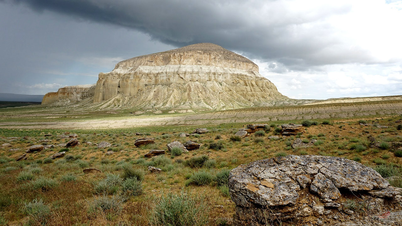Гора Шеркала — останец