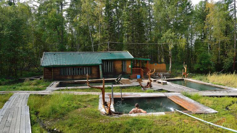 Купальни с тремя бассейнами