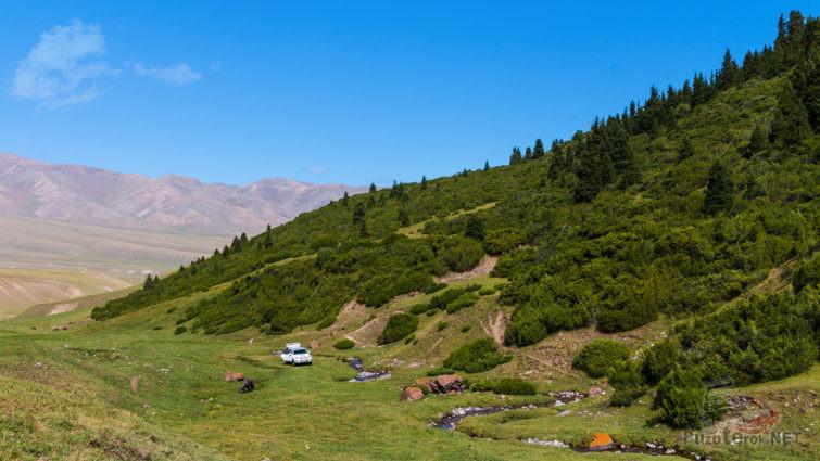 Любимое место для пикников Алматинцев