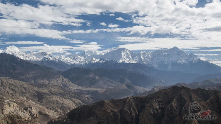 Панорама Баргузинского хребта