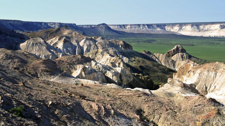 Панорама Мангыстау в Западном Казахстане
