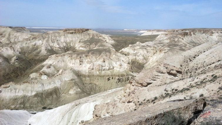 Панорама меловых скал