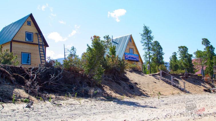 Пляж базы отдыха Петрович