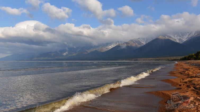 Прибой в Баргузинском заливе