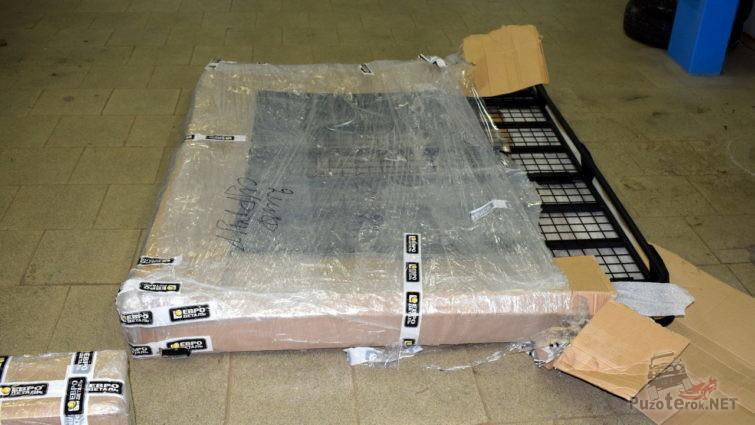 Распаковка багажника