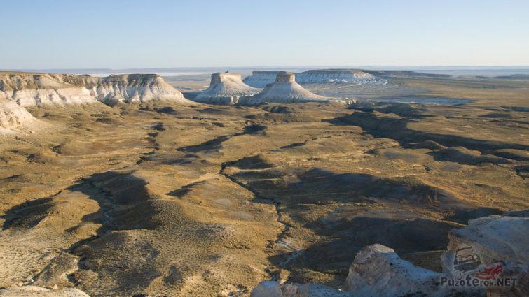 Разлом Мангышлак на плато Алатау