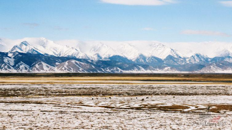 Заснеженная Баргузинская долина