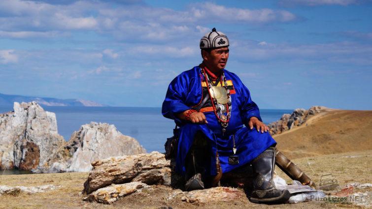 Байкальский шаман на Ольхоне