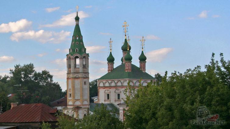 Купола Троицкой церкви
