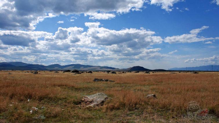 Панорама Ининского сада камней