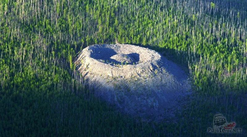 Патомский кратер - Гнездо огненного орла