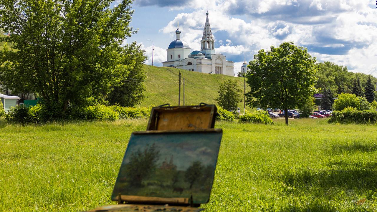 Пленэр на Соборной горе в Серпухове