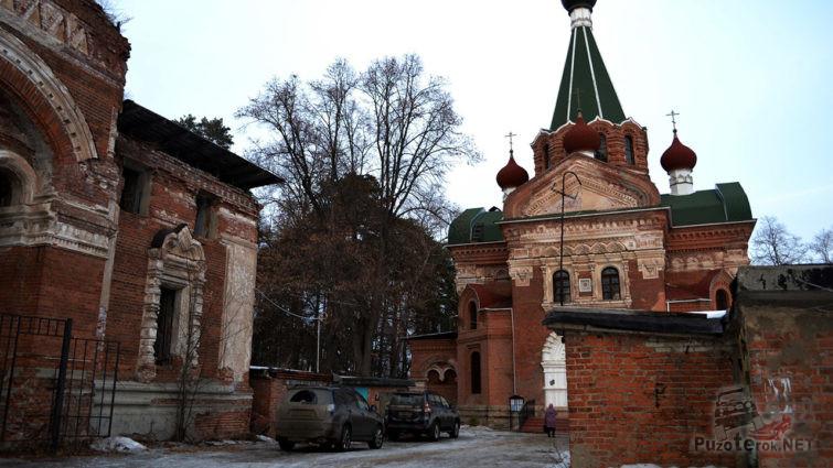 Церковные руины на Занарском кладбище