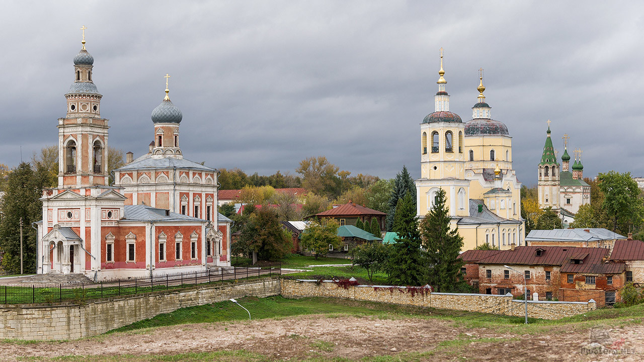 Два заброшенных храма в Серпухове