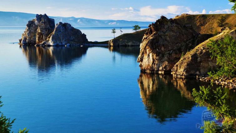 Визитная карточка озера Байкал - гора Шаманка