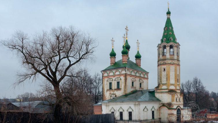 Заброшенная Троицкая церковь