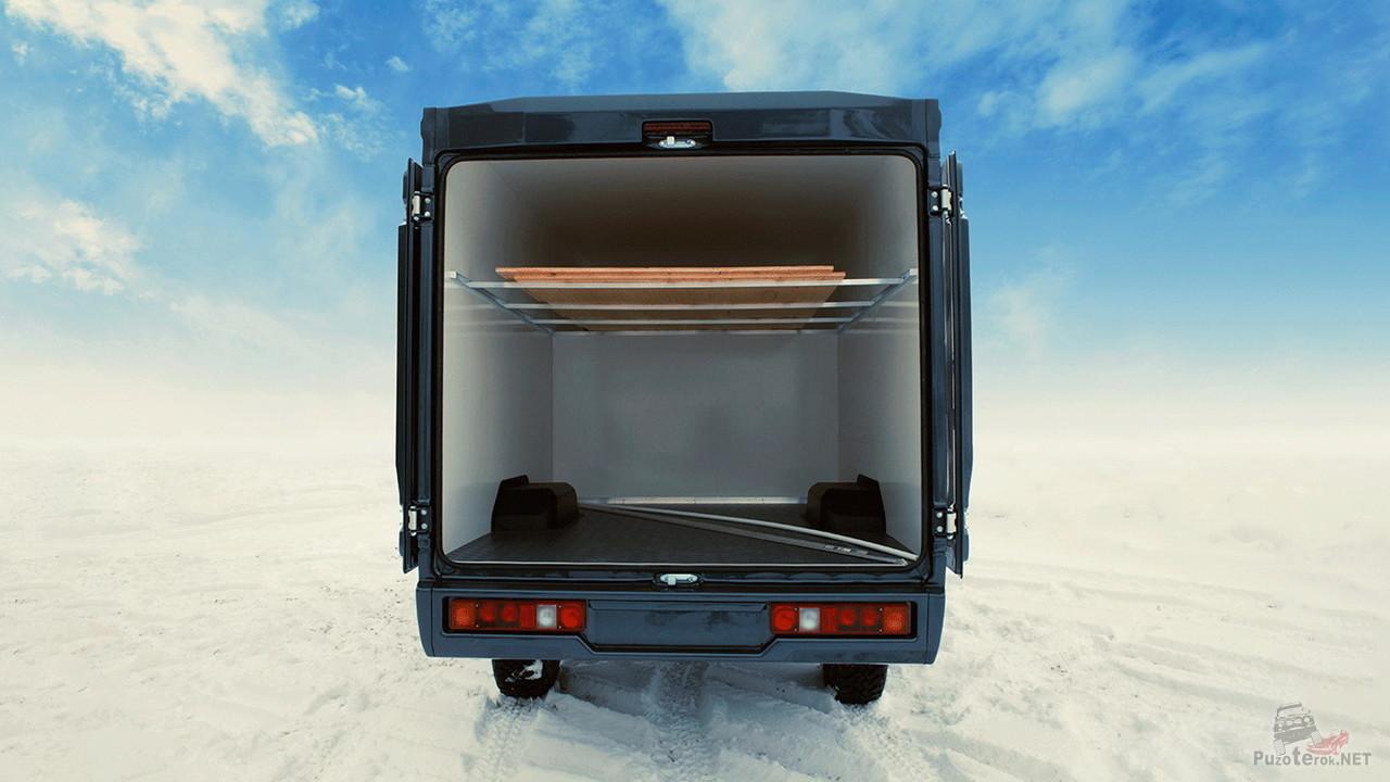 Грузовой фургон на базе Нивы
