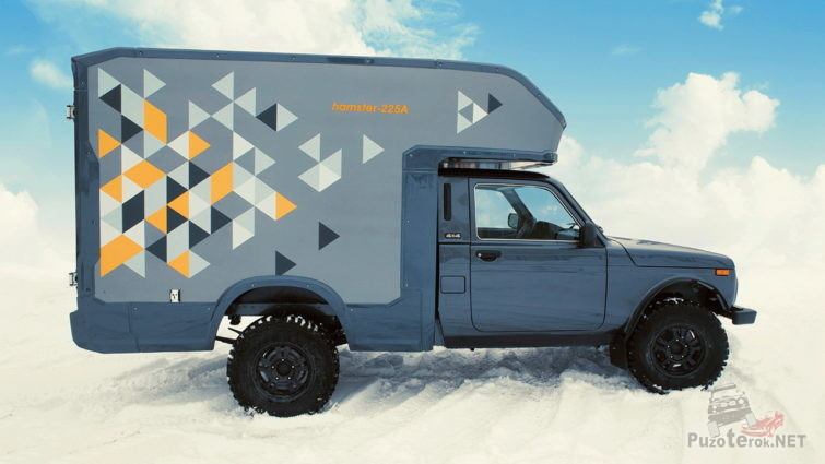 Нива грузовой фургон