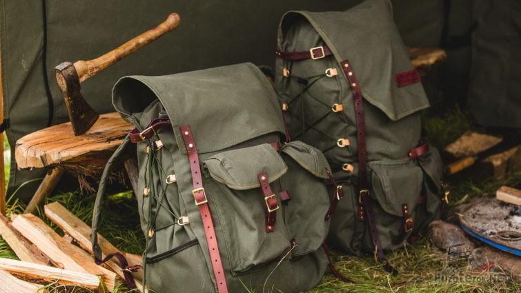 Экипировка выживальщика - рюкзаки и топор