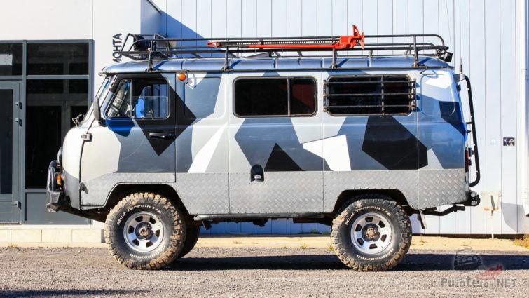 УАЗ буханка автодом для автономного проживания