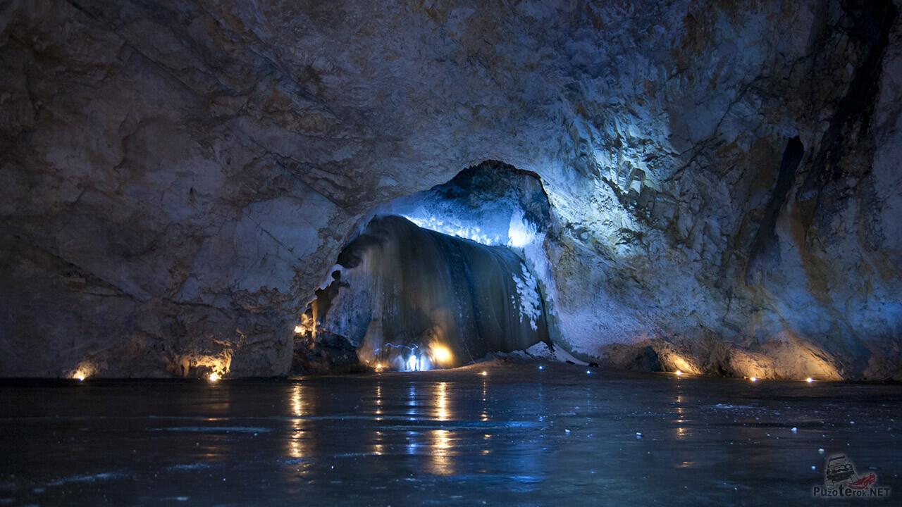 Карстовая пещера Хээтэй (Узорчатая в переводе с Бурятского)