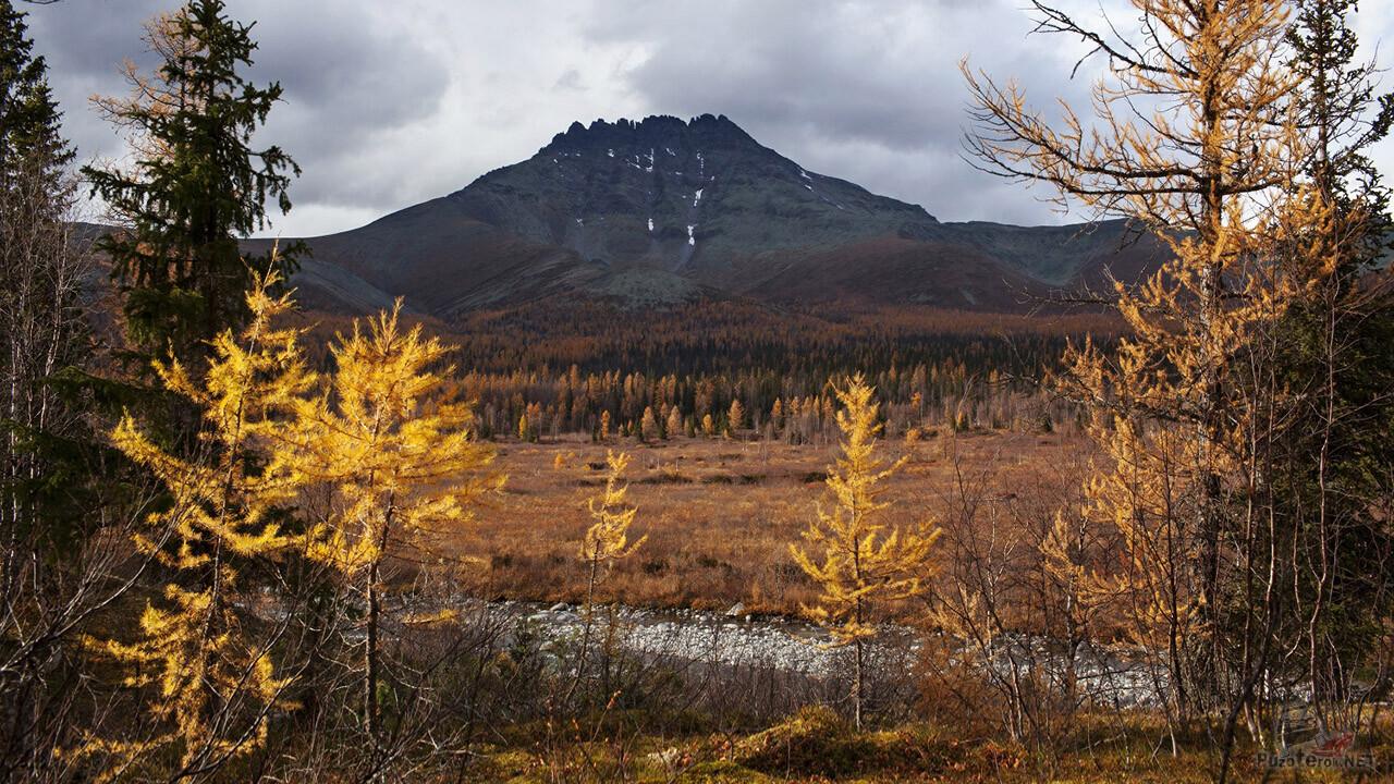 Осень на Приполярном Урале