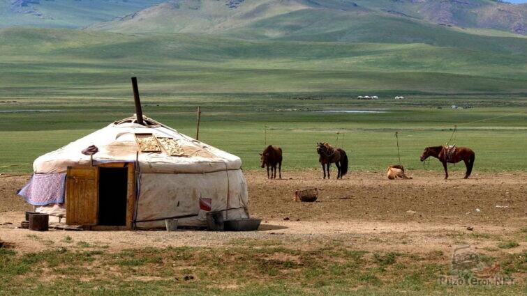 Юрта в Монголии