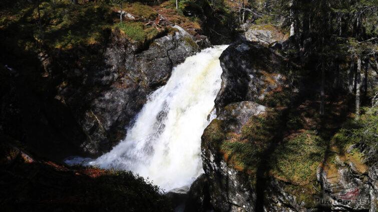 Достопримечательность Пермского края - Жигалановские водопады